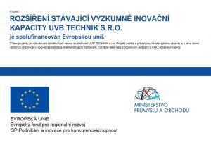 EVROPSKÁ UNIE, Evropský fond pro regionální rozvoj, OP Podnikání a inovace pro konkurenceschopnost